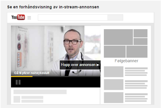 YouTube InStream